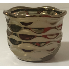 Vaso Decorativo Cerâmica Cobre
