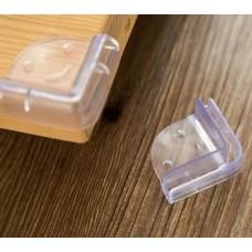 Protetor de Quina Silicone - Kit com 4 unidades