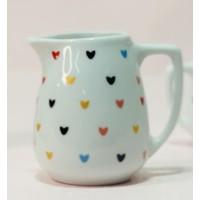 Jarra 170 ml Porcelana - Linha Coração