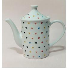 Bule 650 ml Porcelana - Linha Coração