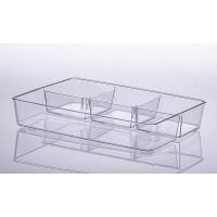 Organizador 34 x 24 x 6 cm com 4 módulos - Retangular
