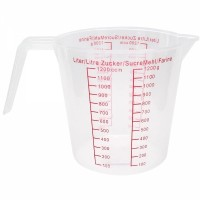 Jarra Medidora Plástico 1000 ml