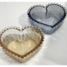 Bowl de Vidro Coração