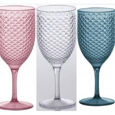 Taça para Água e Vinho - Acrílico Linha Luxxor