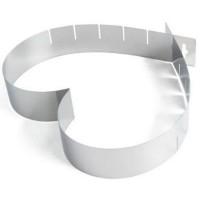 Forma de Bolo Coração Tamanho Regulável 15 a 28 cm